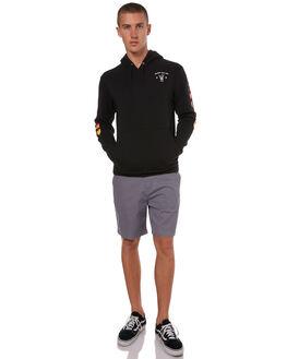 BLACK MENS CLOTHING HURLEY JUMPERS - AA9923010