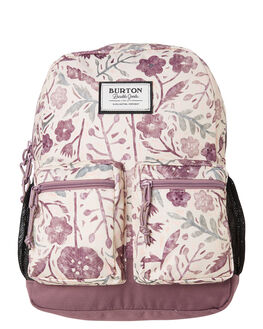 ETCHED FLOWERS KIDS GIRLS BURTON BAGS + BACKPACKS - 11055111500EFLOW