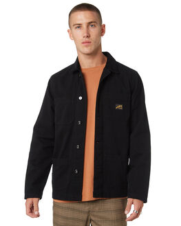 BLACK MENS CLOTHING MISFIT JACKETS - MT095504BLK