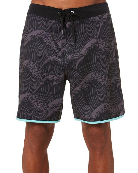 BLACK MENS CLOTHING HURLEY BOARDSHORTS - CJ5257010