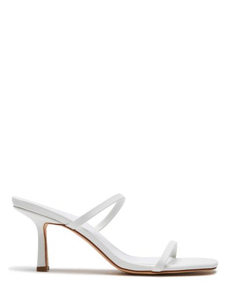 OFF WHITE WOMENS FOOTWEAR ST SANA HEELS - ST211S319OWHT