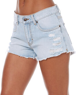 SALT BLUE WOMENS CLOTHING RUSTY SHORTS - WKL0619STE