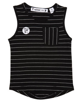 BLACK KIDS TODDLER BOYS RADICOOL DUDE TOPS - RT0308BLK
