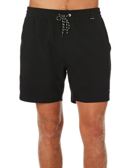 BLACK MENS CLOTHING HURLEY BOARDSHORTS - CJ5296010