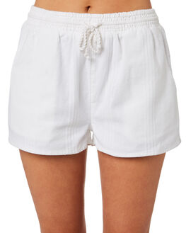 WHITE WOMENS CLOTHING RIP CURL SHORTS - GWAEZ11000