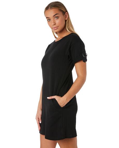 BLACK WOMENS CLOTHING RUSTY DRESSES - DRL0966BLK