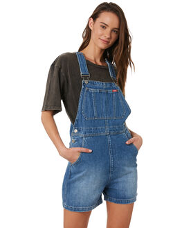 TULSA BLUE WOMENS CLOTHING WRANGLER PLAYSUITS + OVERALLS - W-951601-MN4