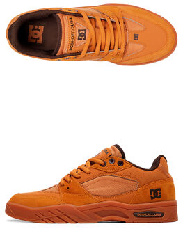 WHEAT/DK CHOC MENS FOOTWEAR DC SHOES SNEAKERS - ADYS100473-WD4