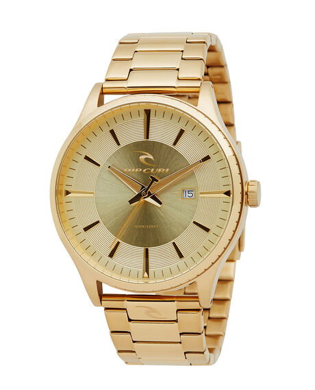 GOLD MENS ACCESSORIES RIP CURL WATCHES - A29450146