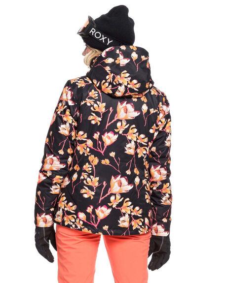 TRUE BLACK MAGNOLIA BOARDSPORTS SNOW ROXY WOMENS - ERJTJ03242-KVJ6
