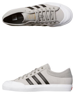 GREY BLACK WHITE MENS FOOTWEAR ADIDAS ORIGINALS SKATE SHOES - BY3985GRY