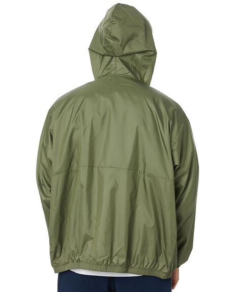 LEGACY GREEN BLACK MENS CLOTHING ADIDAS JACKETS - GD3554LGRBK