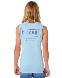 BLUE ICE KIDS BOYS RIP CURL TOPS - KTESQ25294