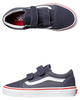 PARISIAN NIGHT SLATE KIDS BOYS VANS SNEAKERS - VN-08HDMMSBLU