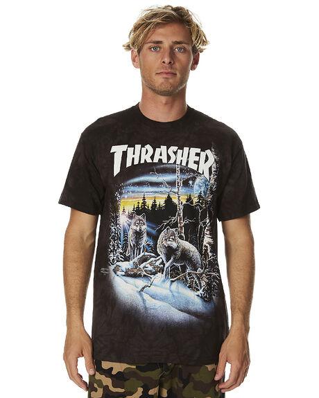 07ae9102fe1a BLACK TIE DYE MENS CLOTHING THRASHER TEES - 311173BTDY