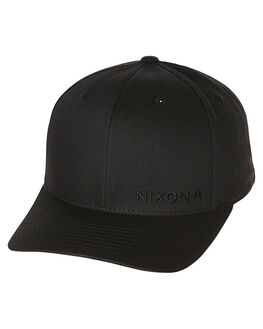 ALL BLACK MENS ACCESSORIES NIXON HEADWEAR - C20601147