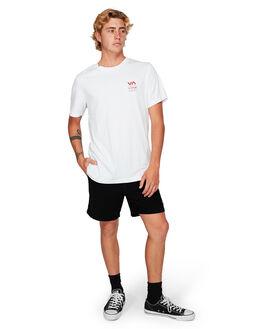 WHITE MENS CLOTHING RVCA TEES - RV-R192043-WHT