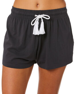 VINTAGE BLACK WOMENS CLOTHING SWELL SHORTS - S8211233VINBK