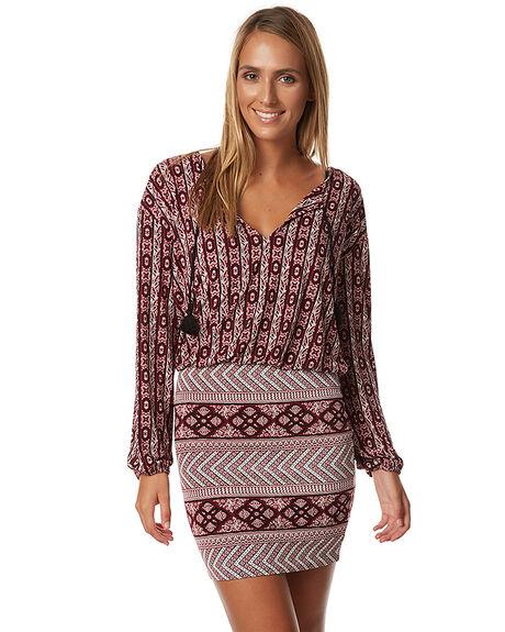 GARNET WOMENS CLOTHING TIGERLILY DRESSES - T373404GAR