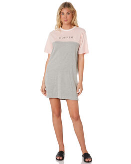 PINK GREY MARLE WOMENS CLOTHING HUFFER DRESSES - WDR83S9602-724