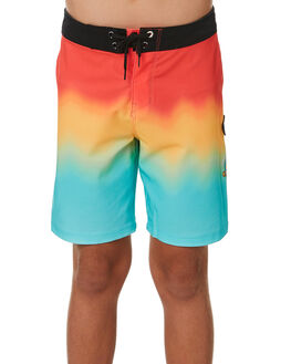 BRIGHT CRIMSON KIDS BOYS HURLEY BOARDSHORTS - CT1924671