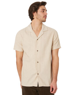 MUSTARD MENS CLOTHING RHYTHM SHIRTS - OCT19M-WT05-MUS