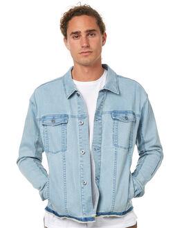 BLEACH BLUE MENS CLOTHING ZANEROBE JACKETS - 500-TDKBBLU
