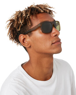 MATTE OLIVE MENS ACCESSORIES ELECTRIC SUNGLASSES - EE12967642MOLV