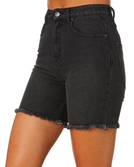 ACES BLACK WOMENS CLOTHING RUSTY SHORTS - WKL0700ACB