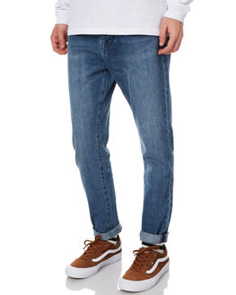 AGE OLD BLUE MENS CLOTHING ASSEMBLY JEANS - AM-W217-12OLDBL