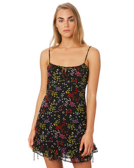 BERRY FLORAL WOMENS CLOTHING THE EAST ORDER DRESSES - EO190928DBERRY
