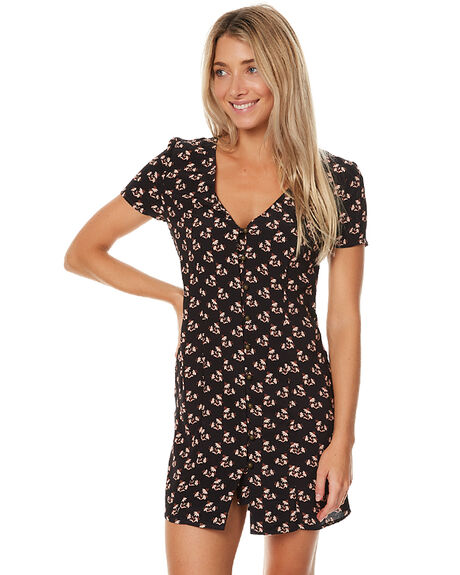VIOLET PRINT WOMENS CLOTHING SWELL DRESSES - S8172444VIOL
