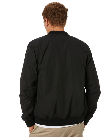 BLACK MENS CLOTHING ACADEMY BRAND JACKETS - 21W213BLK