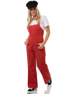 FADED RUST WOMENS CLOTHING ROLLAS PLAYSUITS + OVERALLS - 12568RUST
