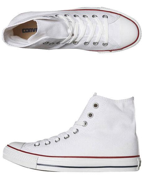 5a6a69e62a9 Converse Mens Chuck Taylor All Star Hi Top Shoe - Optical White ...