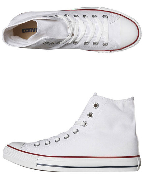 19fe6ce02a9a Converse Womens Chuck Taylor All Star Hi Top Shoe - Optical White ...