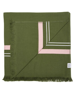 OLIVE WOMENS ACCESSORIES MAYDE TOWELS - 19ESPOLIOLI