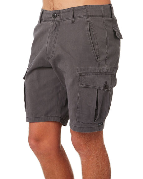 ASH GREY MENS CLOTHING DEPACTUS SHORTS - D5183236ASHGY