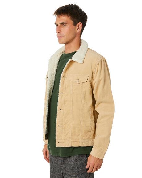 TOBACCO MENS CLOTHING INSIGHT JACKETS - 5000005171TAN