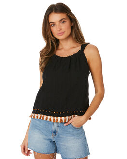 ONYX WOMENS CLOTHING TIGERLILY FASHION TOPS - T391048ONY
