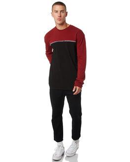 BLACK PORT MENS CLOTHING STUSSY TEES - ST095118BLKPT