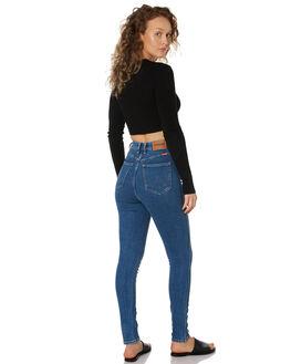 TUBLING DICE WOMENS CLOTHING WRANGLER JEANS - W-951406-LB1