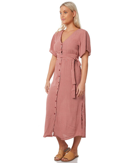 LUCY STRIPE OUTLET WOMENS THE HIDDEN WAY DRESSES - H8183445LSTRP