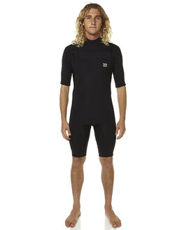 BLACK SURF WETSUITS BILLABONG SPRINGSUITS - 9761420BLK