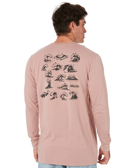 DUST PINK MENS CLOTHING ALOHA ZEN TEES - AZ414DTPNK