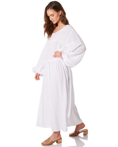 WHITE WOMENS CLOTHING ZULU AND ZEPHYR DRESSES - ZZ2871WHITE