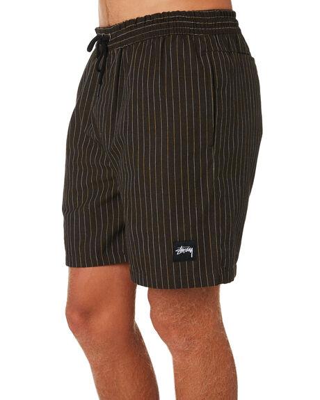 DARK BROWN MENS CLOTHING STUSSY SHORTS - ST091606DKBRN