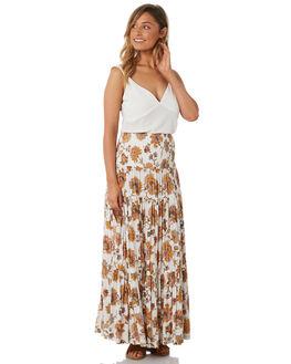 WHITE WOMENS CLOTHING TIGERLILY FASHION TOPS - T382041WHT