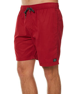 MAROON MENS CLOTHING SWELL BOARDSHORTS - S5164231MAR