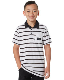 WHITE KIDS BOYS RIP CURL TOPS - KPLCK11000